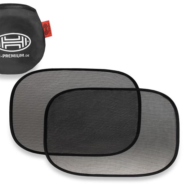 Premium Auto Sonnenschutz selbsthaftend 80x44cm 2er Set