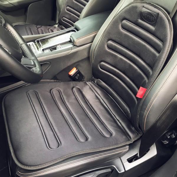 Premium Auto-Sitzauflage beheizbar 12V schwarz