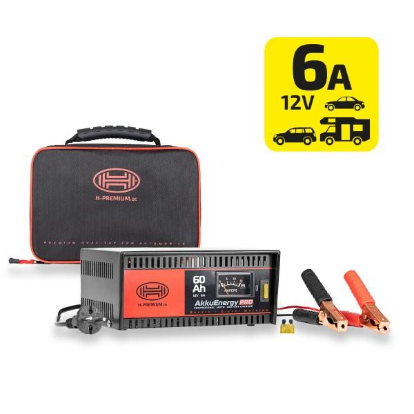 Premium Batterieladegerät 6A 12V