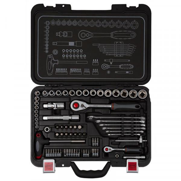 Werkzeugkoffer 74-tlg. PRO