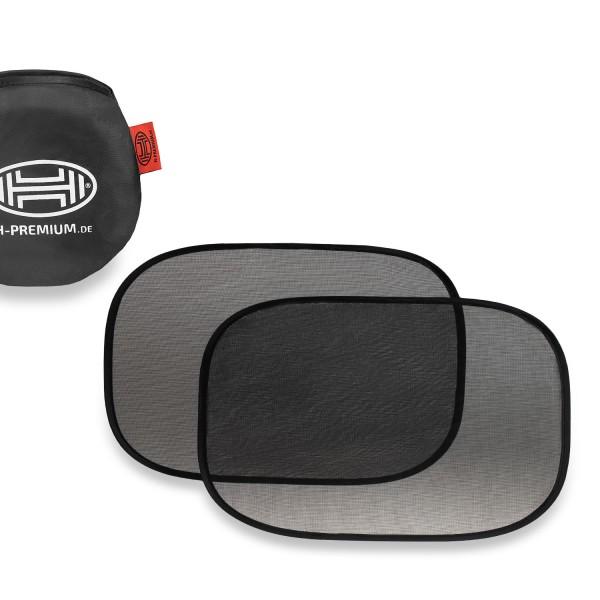 Premium Auto Sonnenschutz selbsthaftend 55x35cm 2er Set