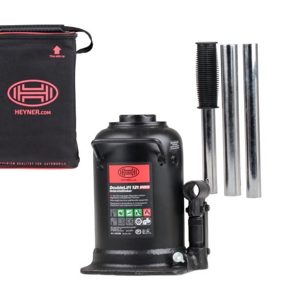 Premium hydraulischer Unterstellheber 2-stufig 12t